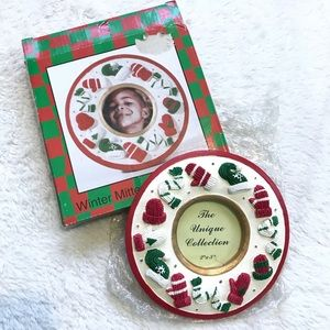 5$ ADD ON - Christmas/Winter Picture Frame